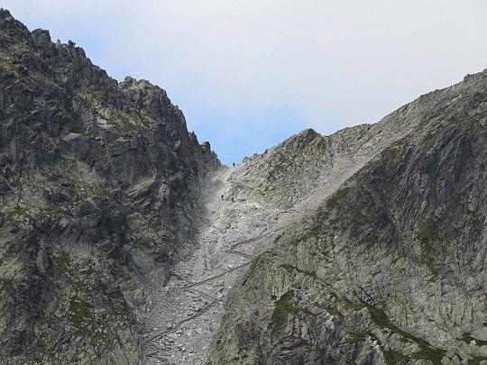 Lodowa Przełęcz (słow. Sedielko, niem. Kleiner Sattelpass, węg. Kis-Nyereg-hágó, 2372 m n.p.m.)