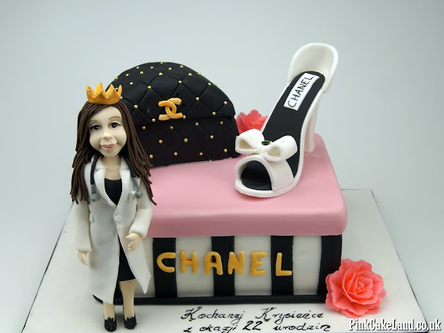 chanel cakes london