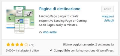 Come creare una Landing Page con Wordpress