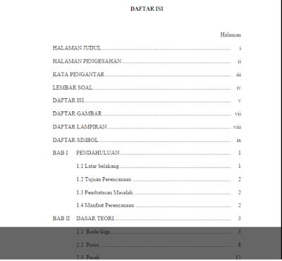 Download Contoh Tugas Perencanaan Mesin Gearbox Daihatsu GrandMax