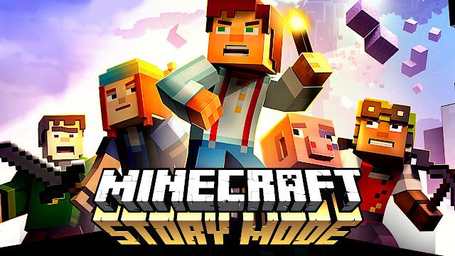 Minecraft Story Mode Com todos os Capitulos