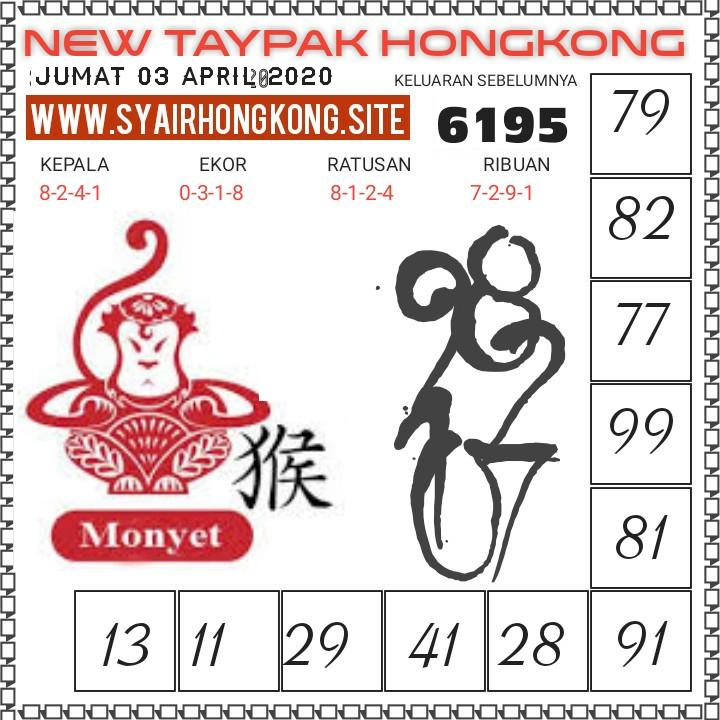 Prediksi togel hk jumat 03 april 2020 - prediksi new taypak hk