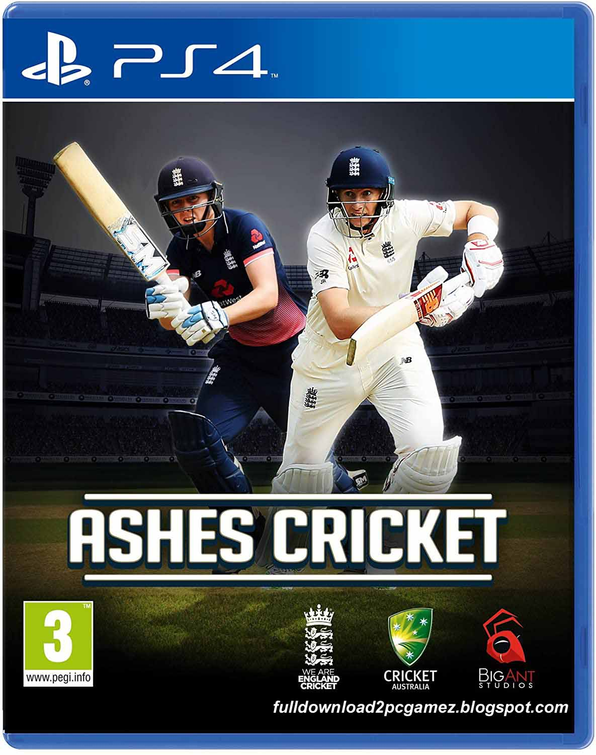 This Is A One of Most Favorite World Cricket Sports Video Game Developed And Published Bi Ashes Cricket 17 Free Download PC Game- CODEX