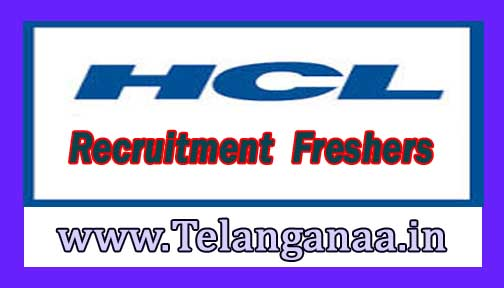 HCL Technologies Recruitment 2016-2017 For Freshers Apply