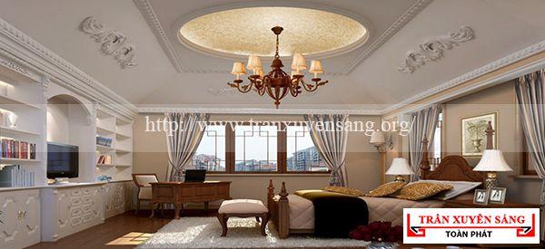 Mẫu trần phòng ngủ cổ điển 3