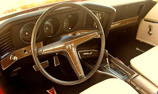 1972 Pontiac Grand Prix Model J Cabin Interior