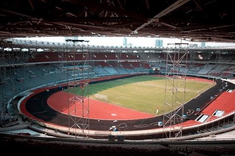 GBK Sebelum Asian Games 2018
