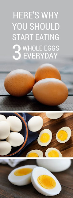 WHAT HAPPENS WHEN YOU EAT 3 WHOLE EGGS EVERY DAY…YOU'LL BE SURPRISED WHAT IT DOES TO YOUR BODY