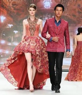 Baju Batik Desain Modern