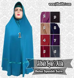 jilbab syar'i alila jumbo polos