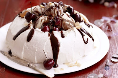 Black forest pavlova desserts recipes