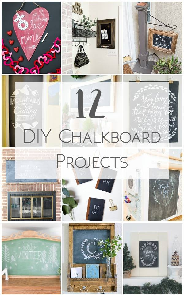 12 DIY chalkboard projects