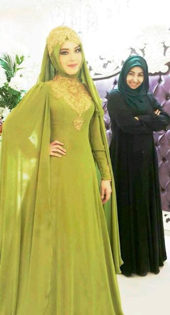 Inspirasi Gaun Muslimah Cantik dan Trendy 2001619