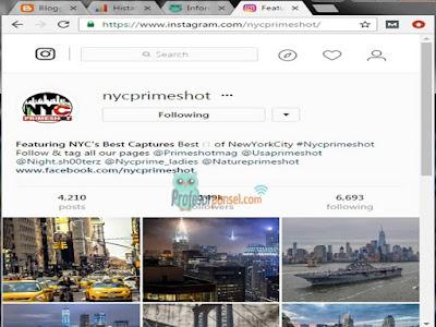 Cara Menyimpan Foto Profil Instagram Terbaru