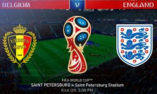 Susunan Pemain Belgia vs Inggris - Juara III Piala Dunia 2018