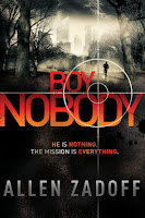 Boy Nobody (I Am the Weapon) by Allen Zadoff book cover and review