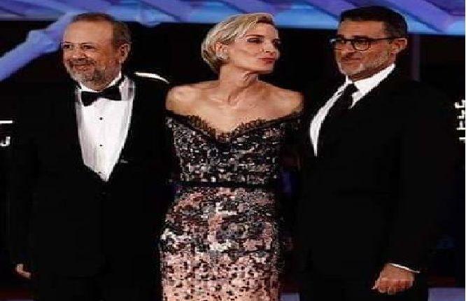 لعرايشي ضحية تحرش جنسي بمهرجان السينما بمراكش.. (صورة)