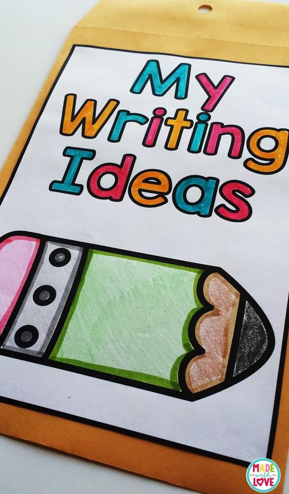 room to write ideas envelope