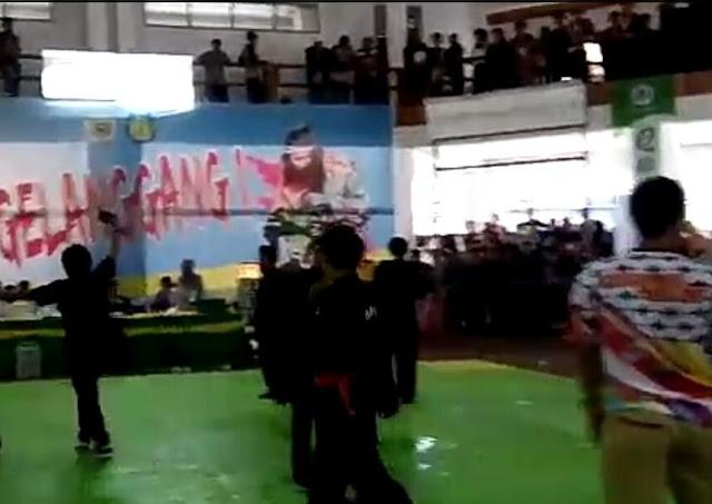 Video : Ricuh Pertandingan, Pesilat Makassar dan Bone