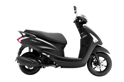 Yamaha Acruzo 125cc black side Hd wallpapers