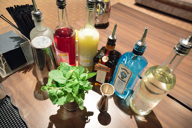 spirits for cocktail making