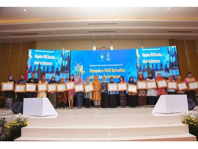 Inilah Para Pemenang Anugerah PAUD Tingkat Nasional 2018