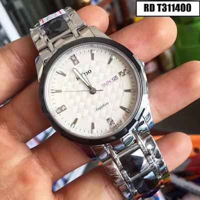 Đồng hồ nam dây inox trắng RD T311400