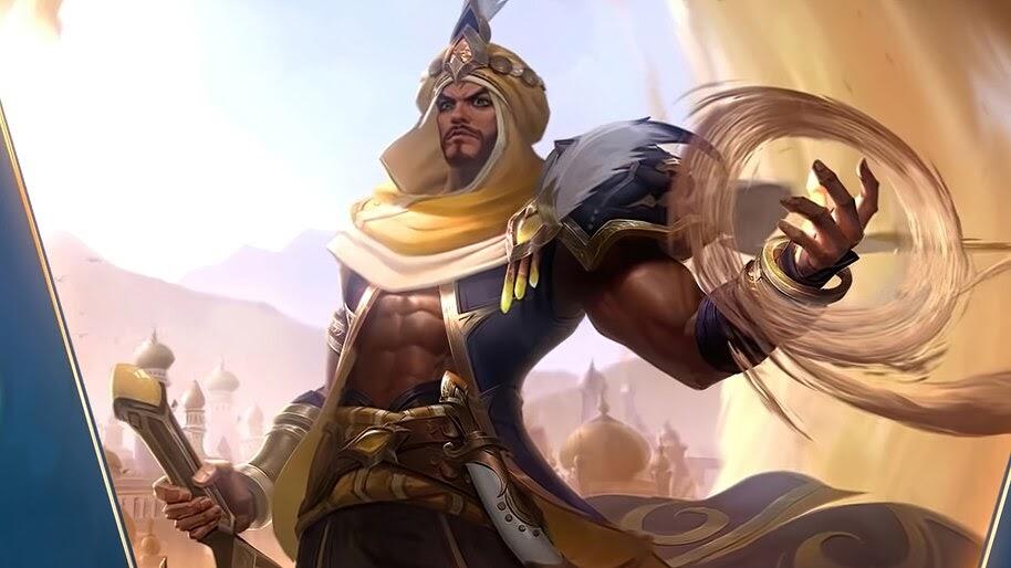 Khaleed, Prince of Sand, Mobile Legends, Skin, 4K, #7.2306