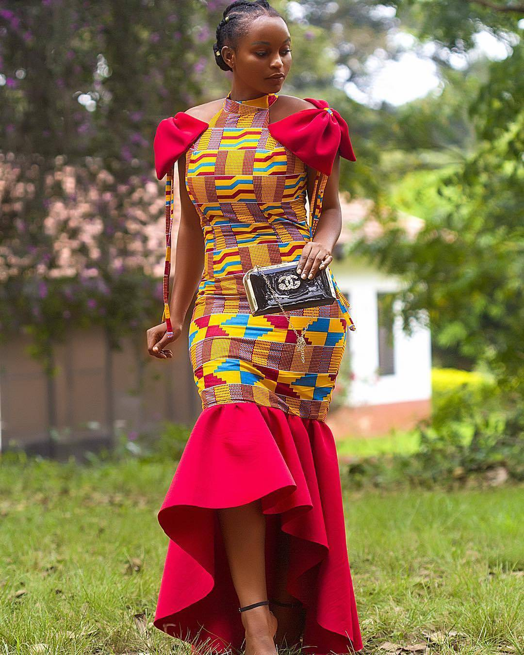 2018 Ankara Styles For Big Ladies