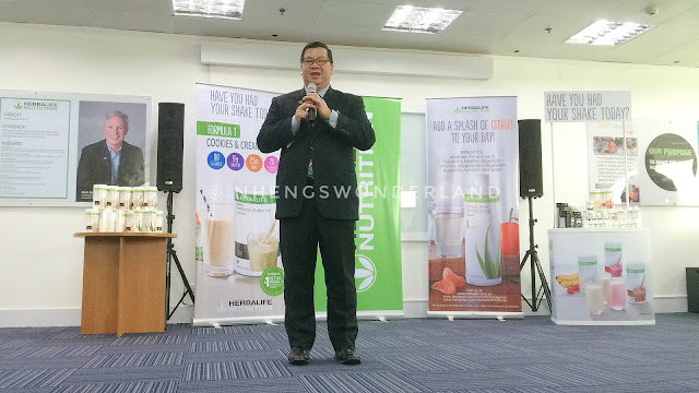 Mr Rosalio Valenzuela, Herbalife General Manager