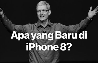 Fitur dan terobosan terbaru iPhone 8 Faster A11 prosesor