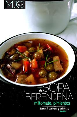 Eggplant soup