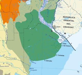 Ecorregión Pampeana mapa