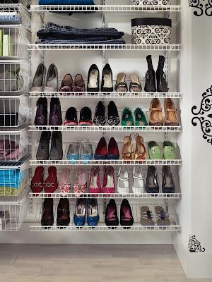 Quality in closet shoe organizer