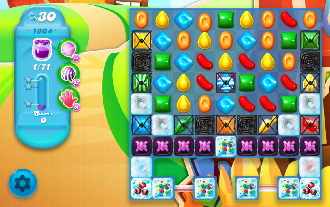 Candy Crush Soda Saga level 1304