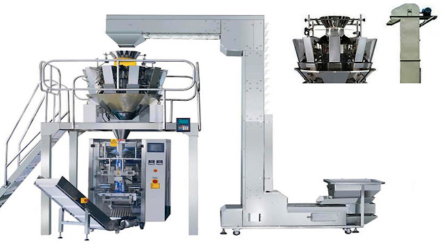 automatic hardware feeding weighing sealing packaging machinery for home appliances nails screws