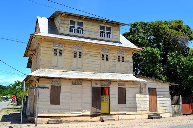 Guyane, Mana, église saint-Joseph, Javouhey, maison créole