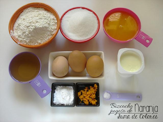 Bizcocho-jugoso-Naranja-Ingredientes