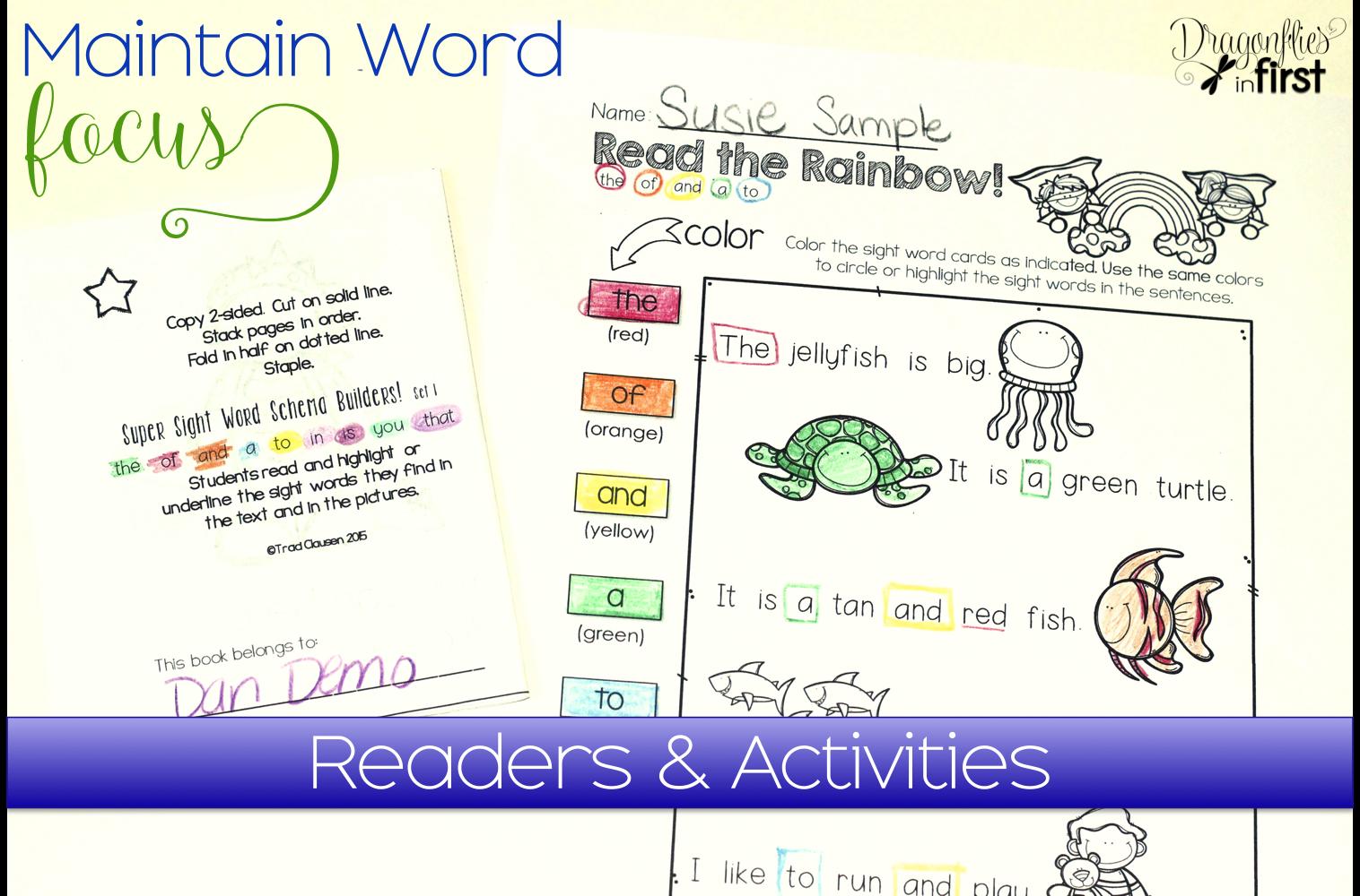 Sight Word Worksheet New 430 Sight Word Identification