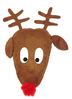 reindeer pillow pattern