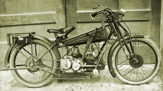 Moto Guzzi G.P. 500 prototype - 1919-1920 - right