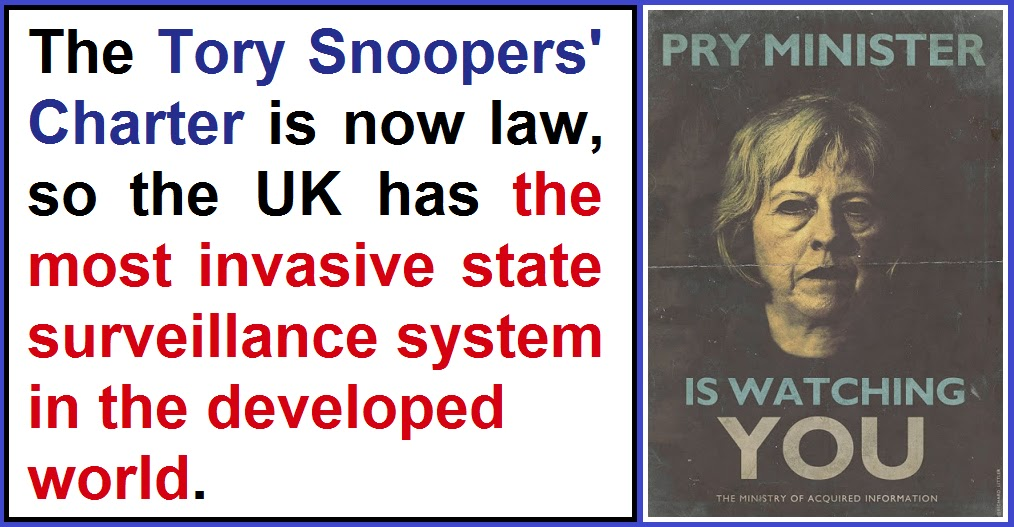 snoopers at work Snoopers charter: it cannot work october 30, 2015 in the telegraph today it is reported that the government are going to try to legislate to collect internet metadata.