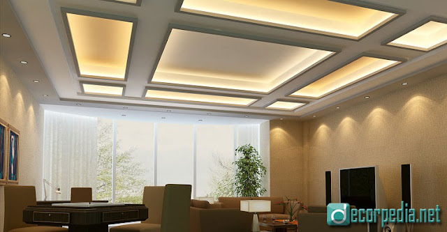 latest false ceiling design, modern false ceiling ideas with led lights, coffered ceiling
