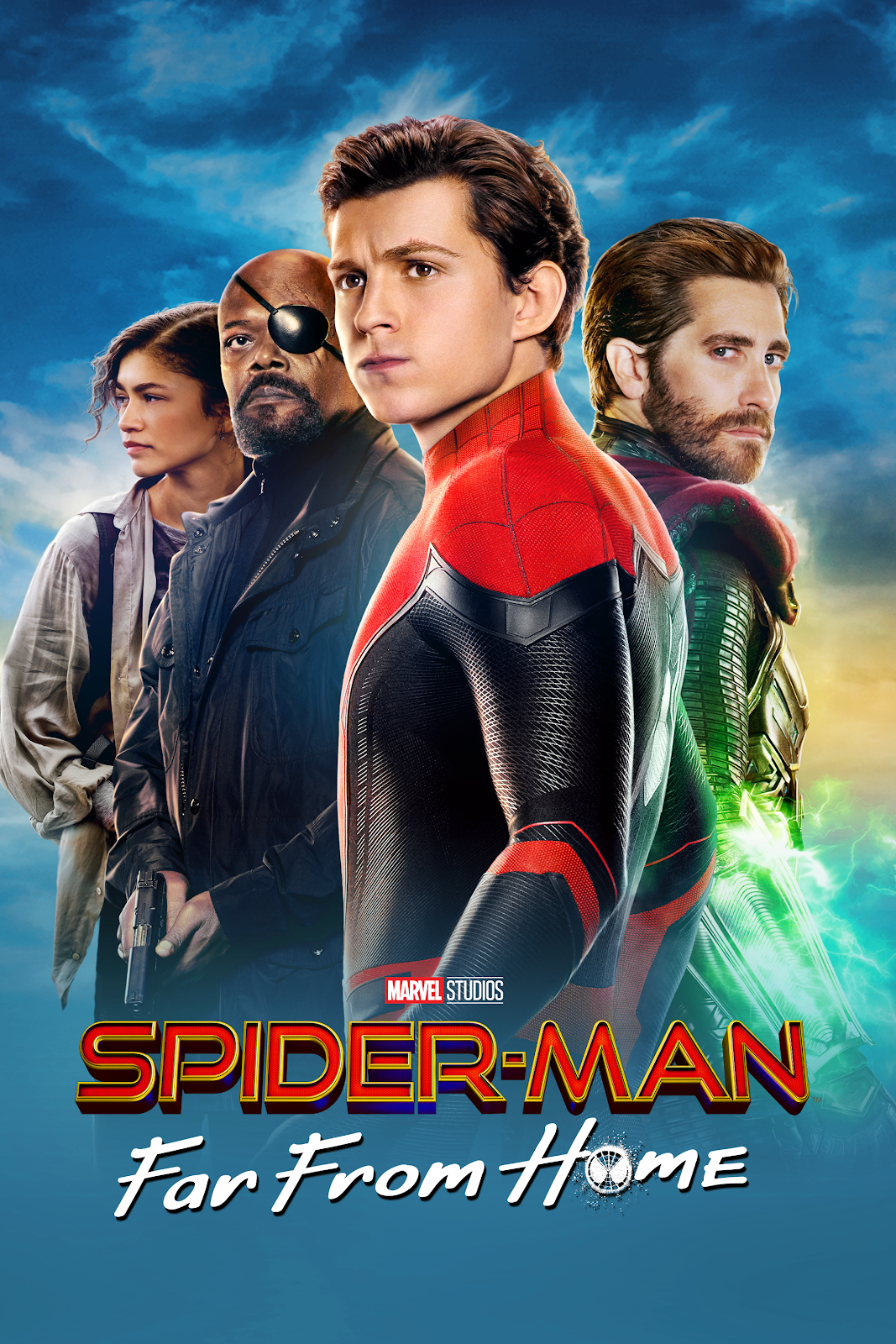 Spider Man Far From Home iTunes poster