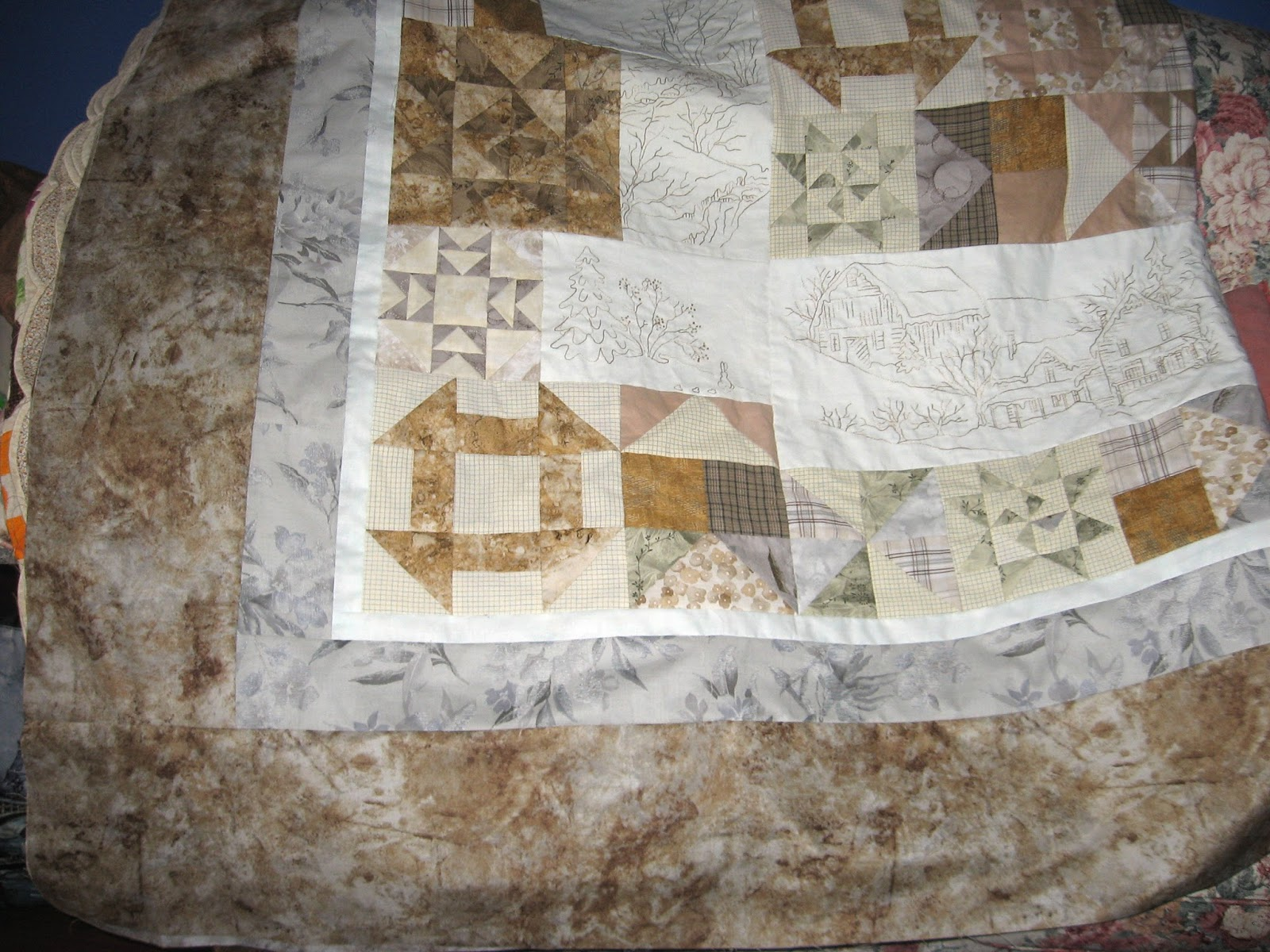 Quilted Art from Mary Katherine Hopkins: October 2017