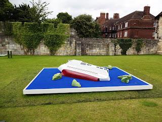 Doug Fishbone's Leisure Land Golf at York Art Gallery