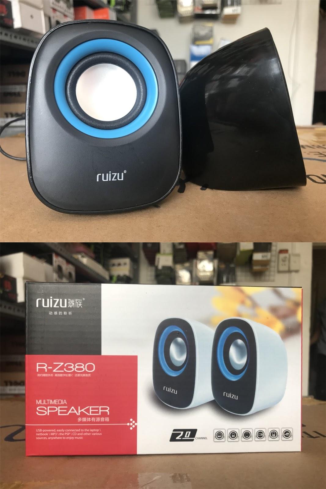 50k - Loa vi tính Ruizu RZ380 giá sỉ và lẻ rẻ nhất