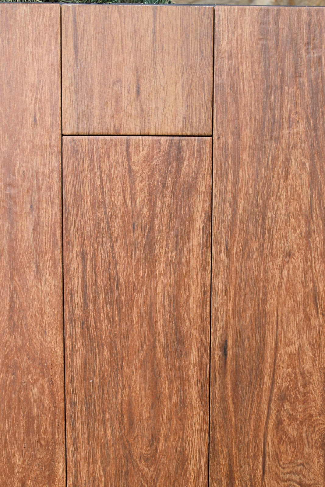 Make Them Wonder: Tile that looks like wood?!