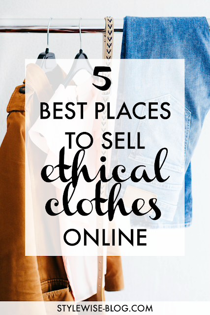 where to sell ethical clothing online - poshmark and ebay review