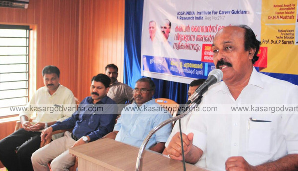 Minister E Chandrasekharan about Kasaragod, chattanchal, kasaragod, news, Politics, E.Chandrashekharan, Revenue Minister, inauguration, Education, Kerala